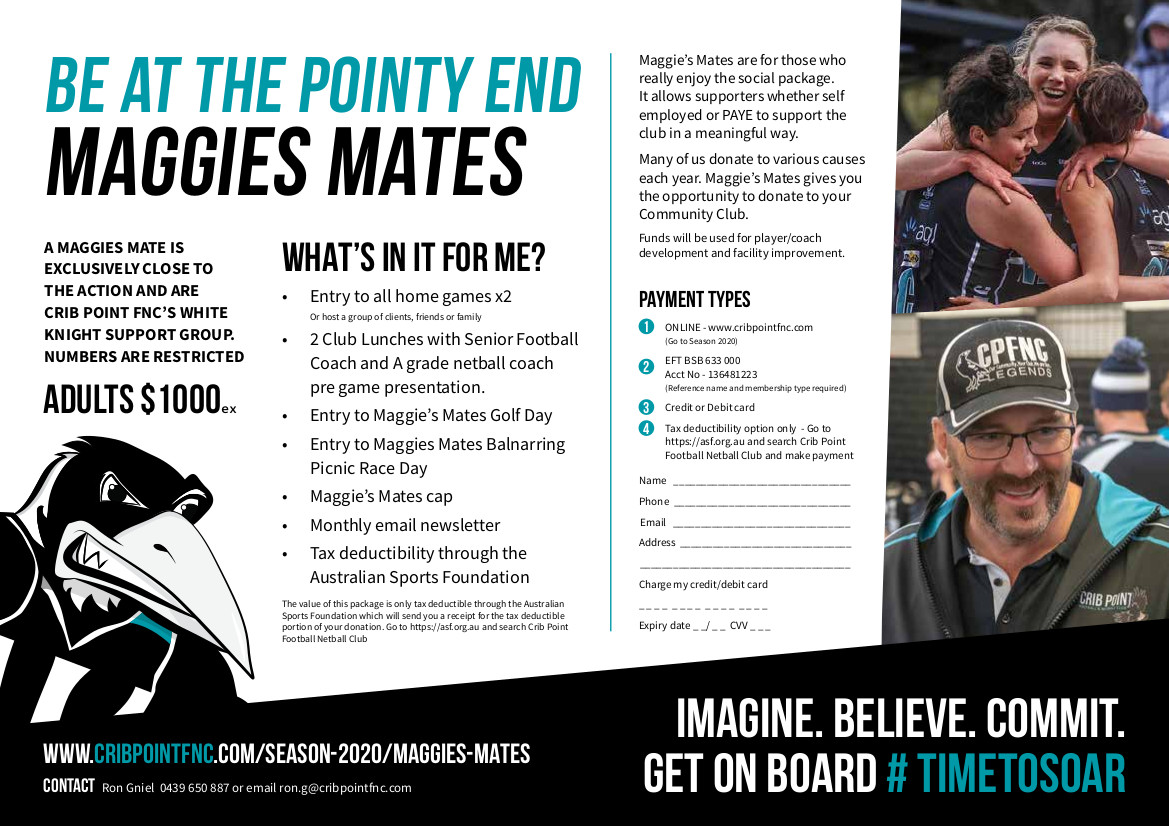CPFNC Maggies Mates Flyer 2020 V4