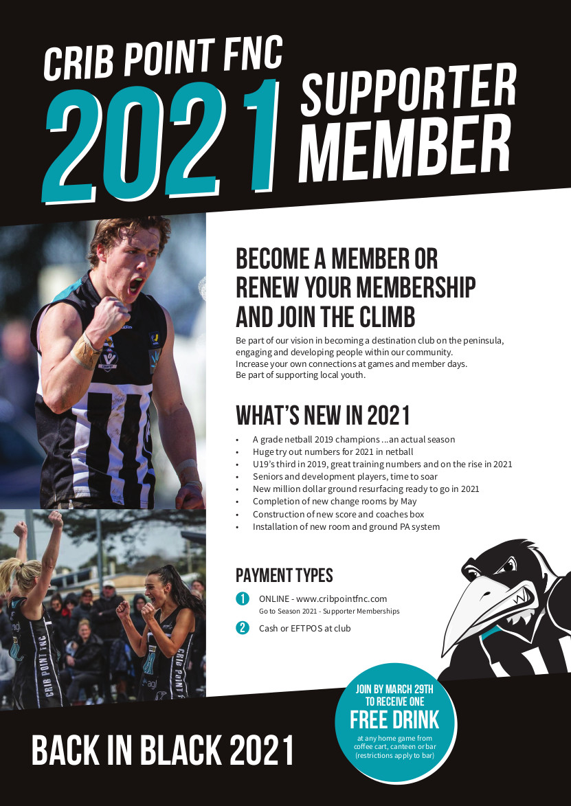 CPFNC Supporter Membership Flyer 2021 PRINT